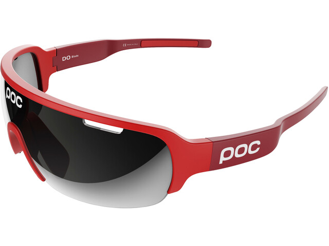 POC DO Half Blade Brille bohrium red